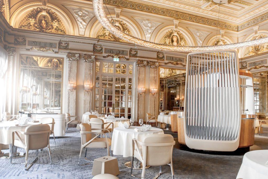 Monaco yacht charter restaurant Alain Ducasse à l'Hôtel de Paris