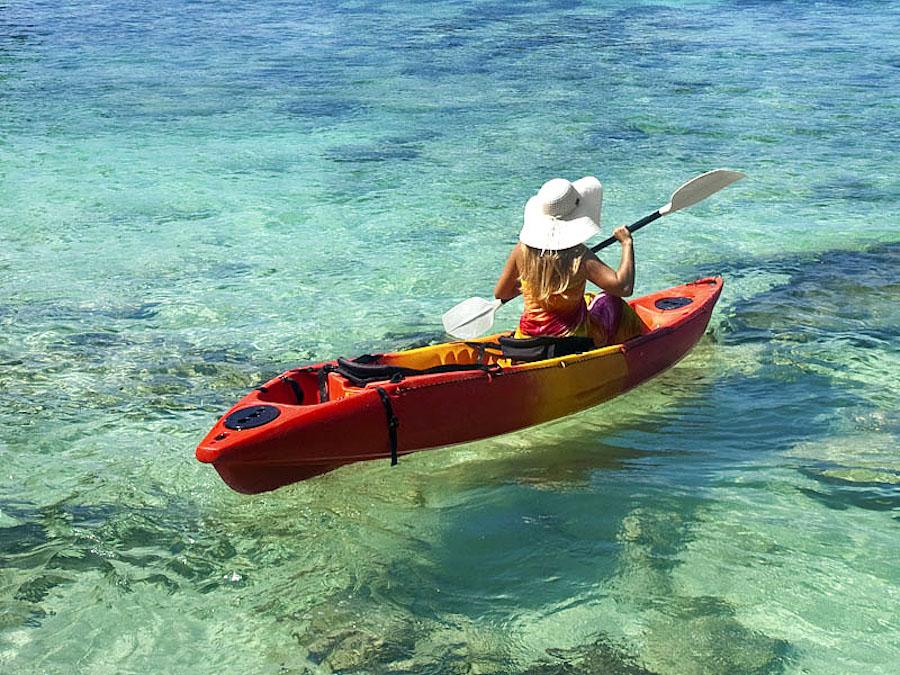 Sint Maarten yacht charter Saint Martin kayak