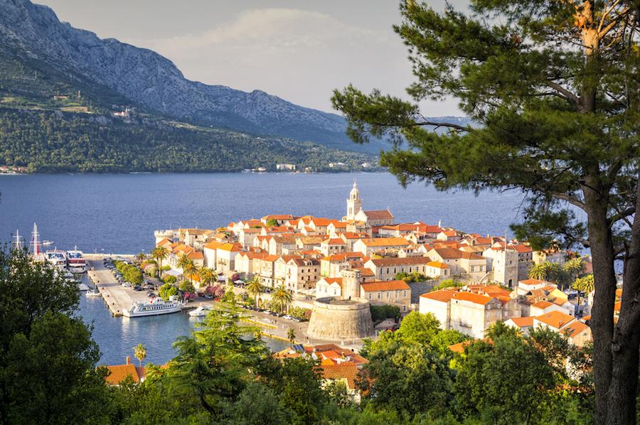 Croatia yacht charter vacations, Korcula