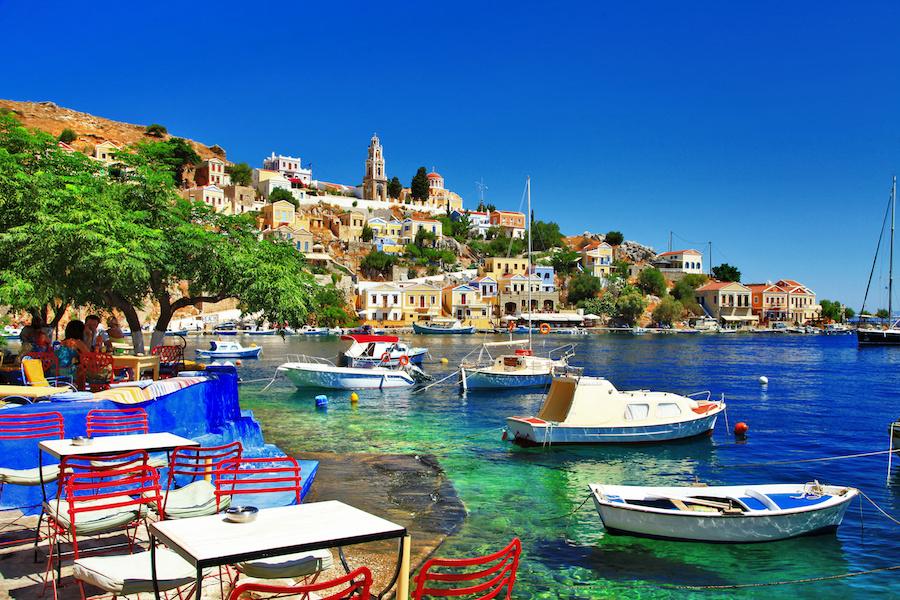 Symi Island, medieval Greece yacht charter