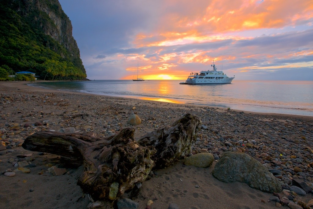 Yacht Charter Itinerary St. Lucia