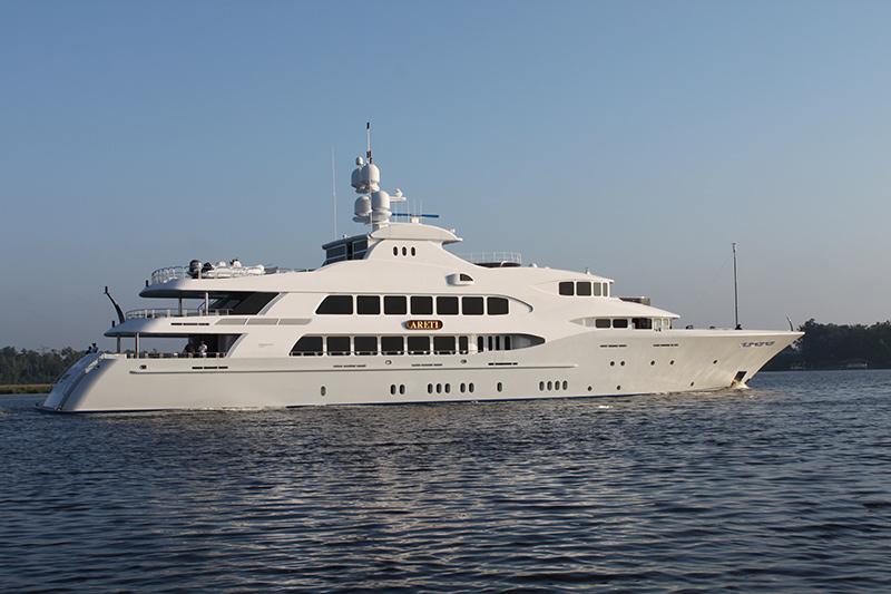 198′ (60m) Trinity Mega Yacht ARETI