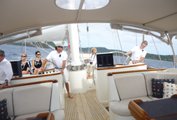 Worth Avenue Yachts attends the 51st  Antigua Charter Yacht Show.