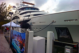 DIAMONDS ARE FOREVER shines at The Miami Yacht and Brokerage Show