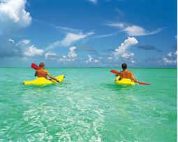 Bahamas Luxury Yacht Charter, kayaking.