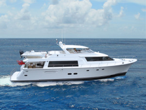 Surya 85 Profile for boat show