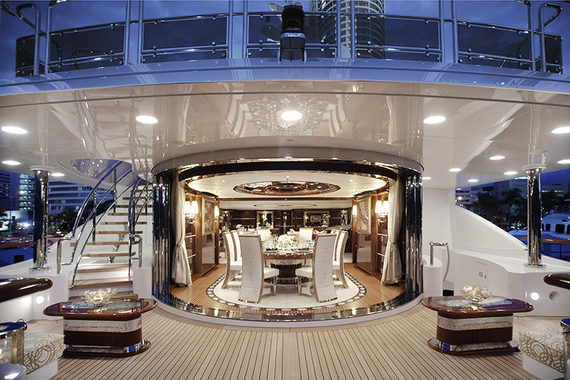 Benetti yachts for sale deck design