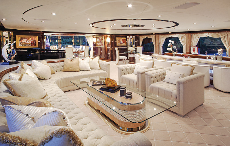 Benetti yachts for sale DAF INTERIOR