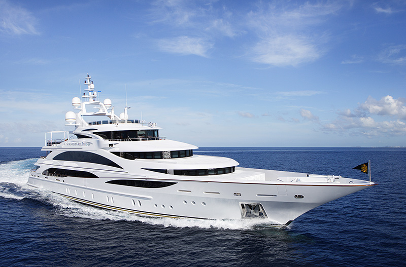 Benetti yachts for sale diamonds are forever