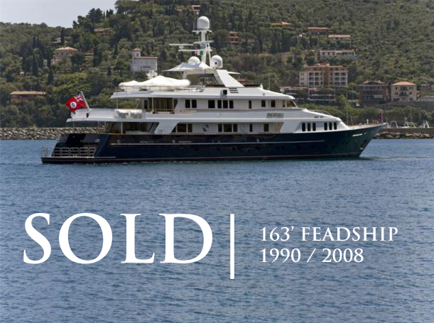 SOLD!! Feadship INEVITABLE