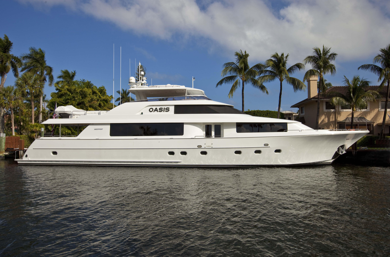 Oasis yacht charter, 112 WESTPORT