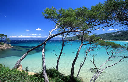 L'ile De Porquerolles, yacht charter South of France