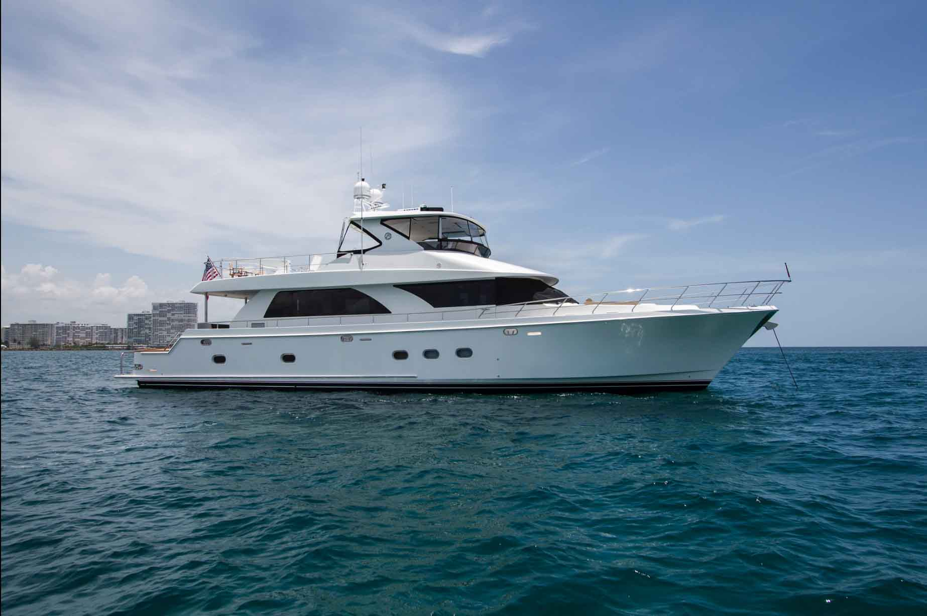The Pearl Charter Yacht