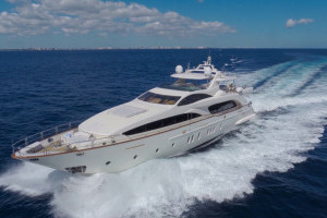 M/Y HAPPY HOUR for sale through Worth Avenue Yachts +1 561 833 4462