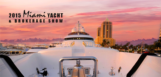 Miami Yacht & Brokerage Show 2015