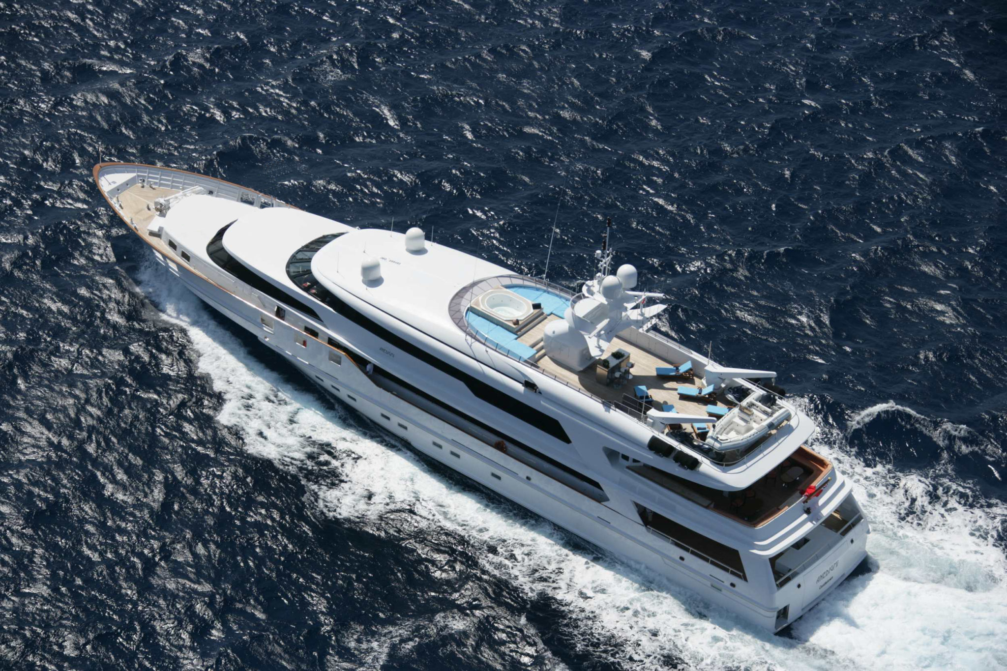 M/Y ANEDIGMI - sold by Worth Avenue Yachts