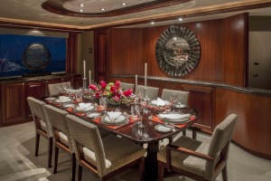 Yacht Antares Dining Area