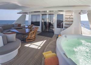 Antares Yacht Deck