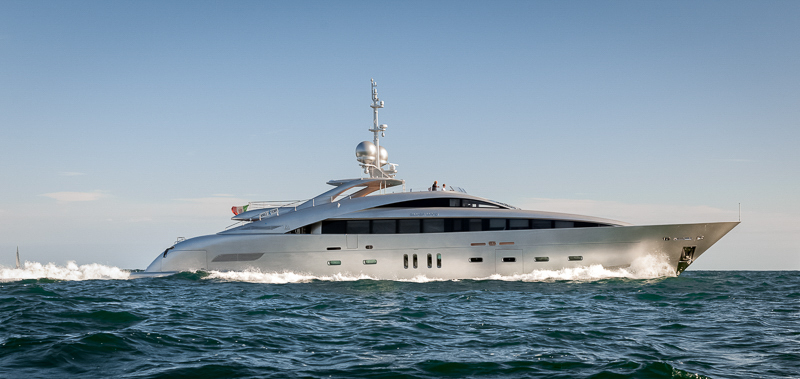 """MAJOR PRICE REDUCTION – 143' 2"""" ISA SILVER WIND"""