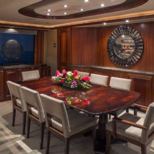 M/Y Antares yacht for sale. Dining.