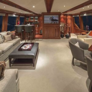 M/Y Antares yacht for sale, Salon.