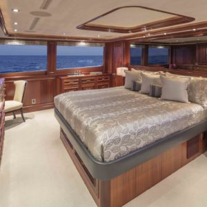 M/Y Antares yacht for sale, stateroom.