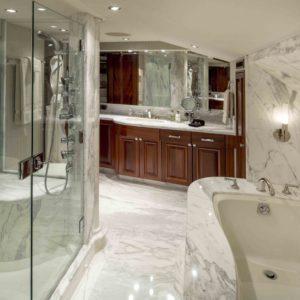 M/Y Antares yacht for sale, vip bathroom.