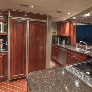 M/Y Antares yacht for sale, galley.