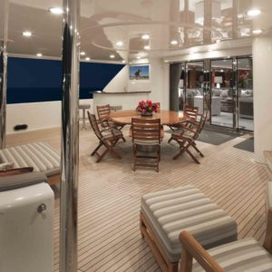 M/Y Antares yacht for sale, upper deck