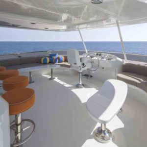 M/Y Antares yacht for sale, sun deck