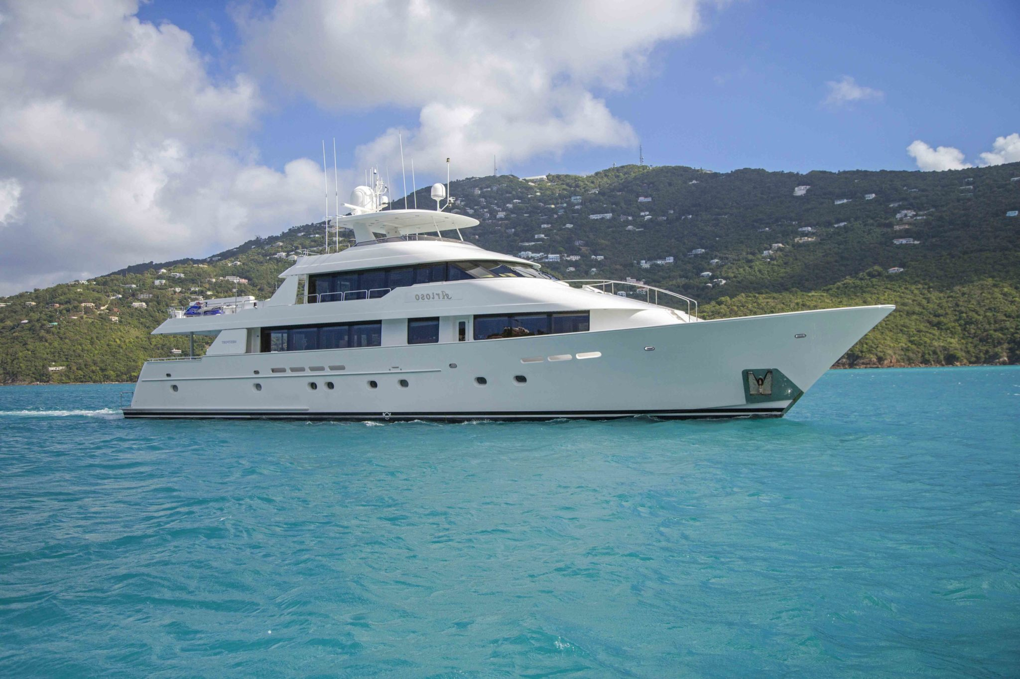 Arioso a 130-ft Westport in St Thomas.