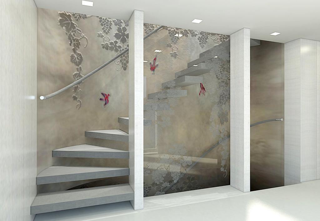 M/Y QUINTA ESSENTIA, stairs