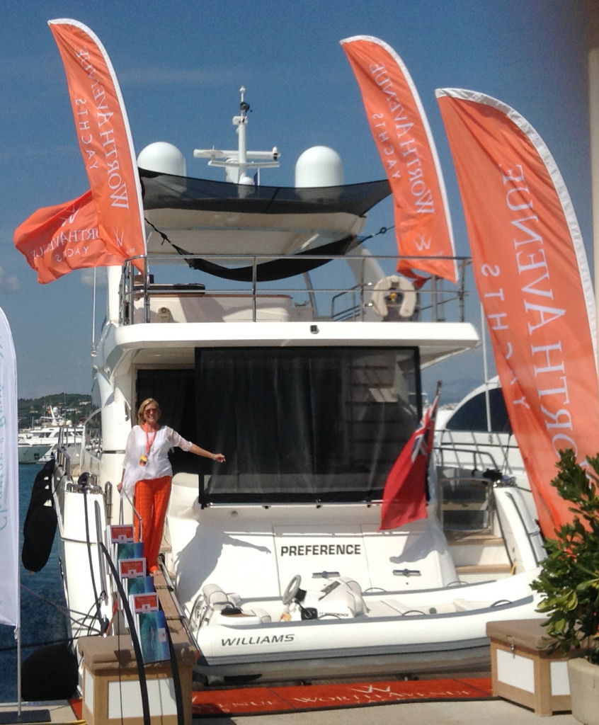 M/Y PREFERENCE at the CANNES YACHTING FESTIVAL