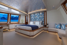 OCTOPUSSY charter yacht, Master Stateroom - on show at FLIBS 2015