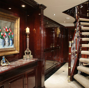 Ionian Princess yacht for sale foyer