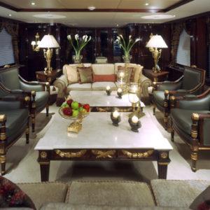 Ionian Princess yacht for sale, salon