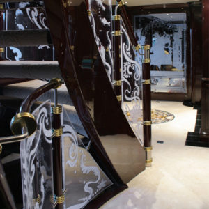 Ionian Princess yacht for sale, stairs