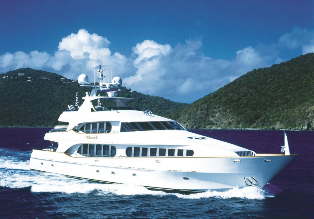 TOUCH yacht profile, TOUCH is for sale with Worth Avenue Yachts.