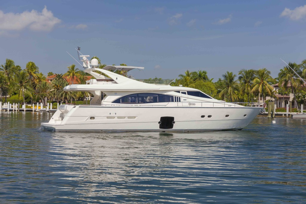 PRICE REDUCTION on beautifully styled and well detailed Ferretti 73