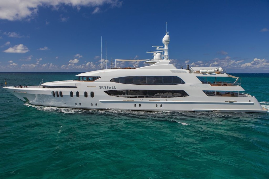Explore Charter Yachts for Sale like M/Y SKYFALL