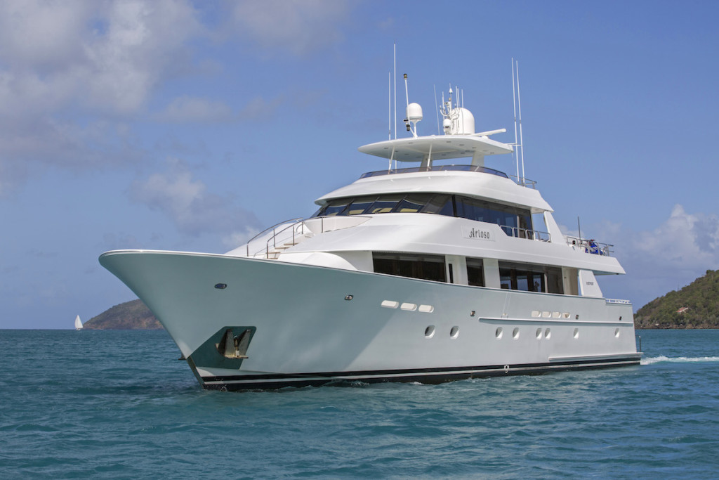 Arioso, a 130ft Westport yacht for sale in Florida