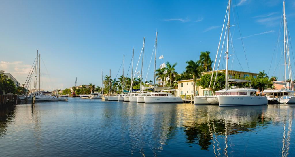 Florida yacht sales, Miami, USA