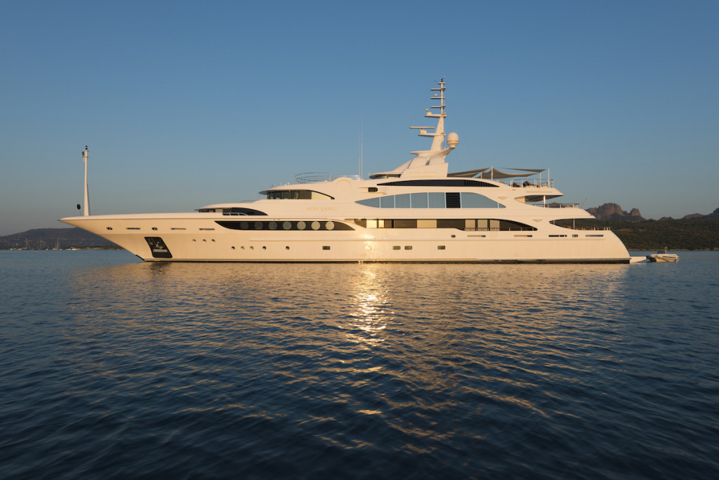 Charter Yacht MINE GAMES, Fit For A King And Now Listed With Worth Avenue Yachts