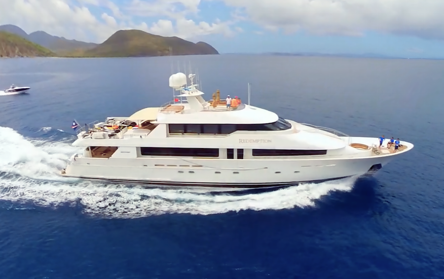 Worth Avenue Yachts are Pleased to Announce the Sale of Yacht REDEMPTION
