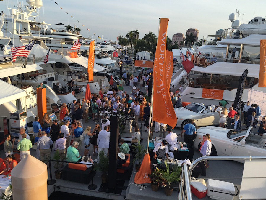 Opening of the Palm Beach International Boat Show 2016!