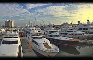 Opening of the Palm Beach International Boat Show 2016