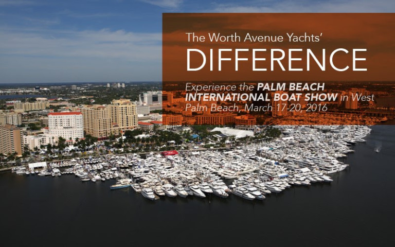 Worth Avenue Yachts to Display at the Palm Beach International Boat Show 2016