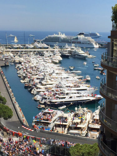Worth Avenue Yachts Monaco Grand Prix