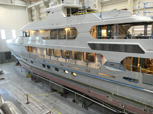 Christensen yachts for sale shipyard