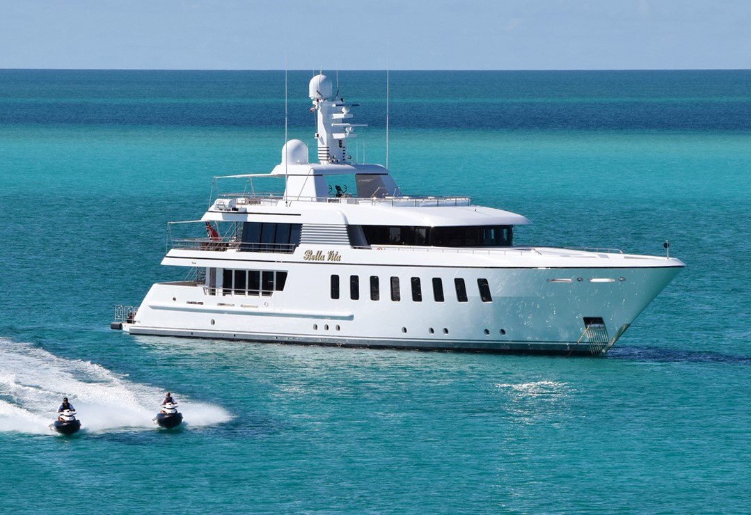 45m Feadship BELLA VITA Now Offered for Sale
